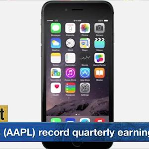 Apple's Record Quarter Lifts Wall Street From Tuesday's Big Drop