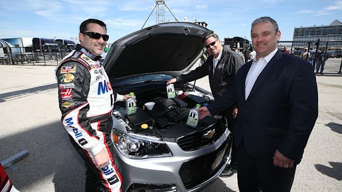 NASCAR uses Mobil 1 to increase fuel efficiency