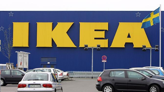 FILE - This is a April 27,2006 file photo of the IKEA furniture store in Duisburg, western Germany.  Swedish furniture giant Ikea expressed regret Friday Nov. 16, 2012  that it benefited from the use of forced prison labor by some of its suppliers in communist East Germany more than two decades ago. (AP Photo/Frank Augstein, File)