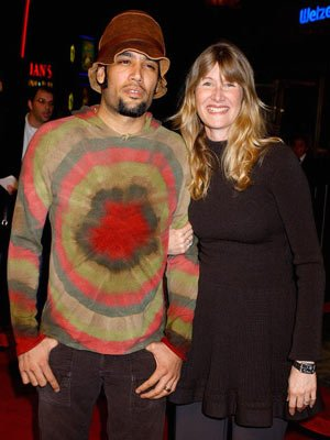 Ben Harper and Laura Dern at the Los Angeles premiere of Universal Pictures' Meet the Fockers