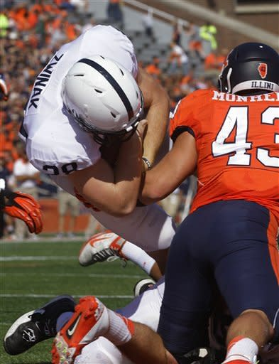 Penn State opens Big Ten with 35-7 win at Illinois