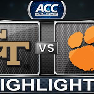 Georgia Tech vs Clemson | 2013 ACC Football Highlights