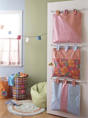 Over-the-door Storage Bags