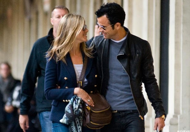 Photos- Jennifer Aniston et Justin Theroux: Paris, love et plus si affinités