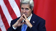 gty kerry china kb 130710 16x9 608 Secretary Kerry Gets Emotional Over Wifes Condition
