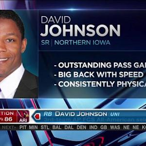 Arizona Cardinals pick running back David Johnson No. 86 in the 2015 NFL Draft