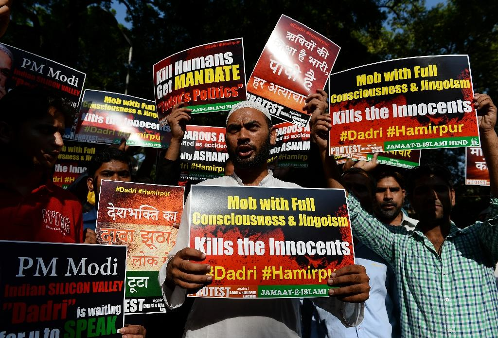 India's Modi appeals for religious unity after beef murder row