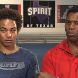 Herschel Walker on son's cheerleading success