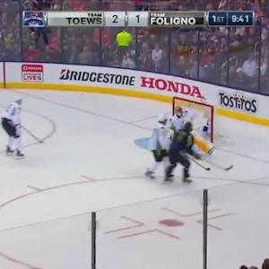 Roberto Luongo Save on Alex Ovechkin (10:20/1st)