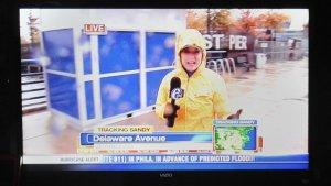 Evening News Broadcasts Expand for Hurricane Sandy Coverage