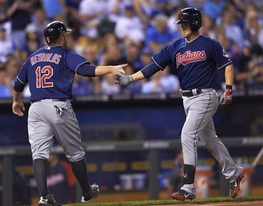 Ubaldo Jimenez dazzles as Indians beat Royals 9-0