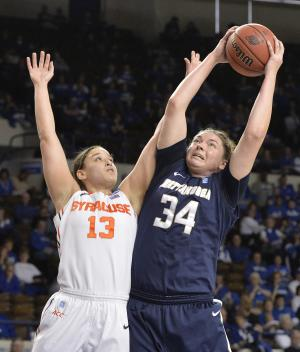 Syracuse women hold off Chattanooga 59-53