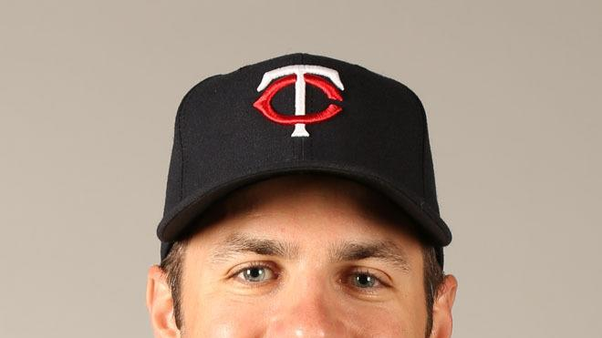 Joe Mauer Baseball Headshot Photo