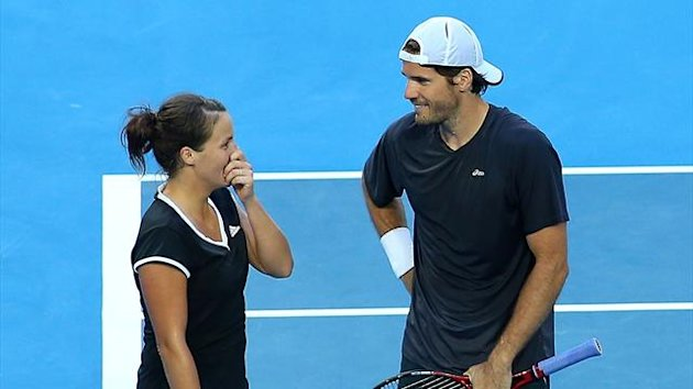 Tatjana Malek und Tommy Haas