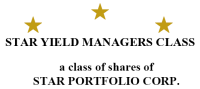 Star Portfolio Corp. Announces Monthly Cash Distribution for Star Yield Managers Class