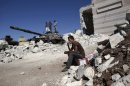 Fighting across Syria as last UN monitors leave