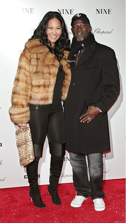 Nine NY Screening 2009 Kimora Simmons Djimon Hounsou