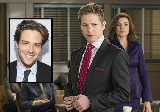 Exclusive: The Good Wife Retains Ben Rappaport to Play Alicia and Cary's 'New' [Spoiler]