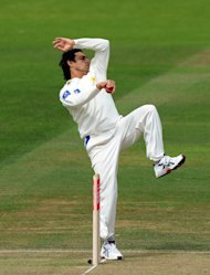 Saeed Ajmal has already added three more wickets to the two he took on Friday