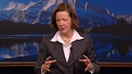Premier Alison Redford says the province faces some &#39;significant deficit issues.&#39;