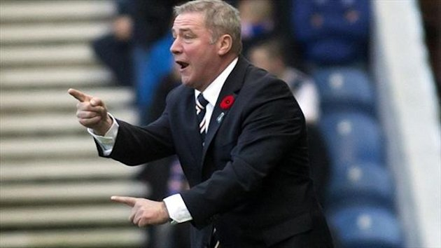 Rangers manager Ally McCoist is targetting furtehr success in 2014