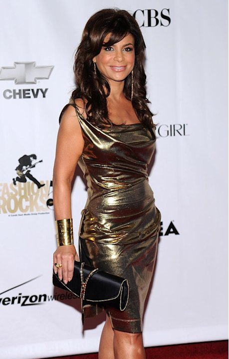 Paula Abdul attends the Conde Nast Media Group's Fifth Annual Fashion Rocks at Radio City Music Hall on September 5, 2008 in New York City. 