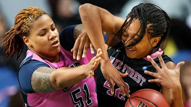 Wake Forest women top Pitt 72-58 in ACC tourney