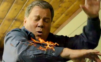 William Shatner talks turkey in a new State Farm ad