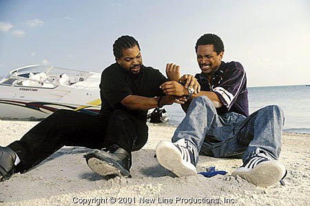 Ice Cube and Mike Epps in New Line's All About The Benjamins