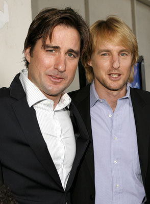 Luke Wilson , director and Owen Wilson at the Los Angeles premiere of THINKFilm's The Wendell Baker Story