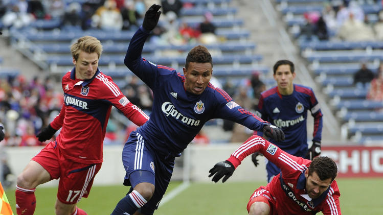 MLS: Chivas USA at Chicago Fire