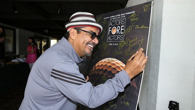George Lopez at the Screen Actors Guild Foundation 4th Annual Golf Classic Actors Fore Actors, on Monday, June, 10, 2013 in Los Angeles. (Photo by Eric Charbonneau/Invision for SAG Foundation/AP Images)