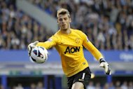 David De Gea could start in goal for Manchester United tonight