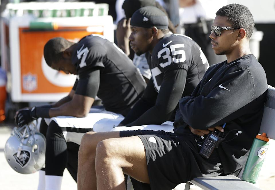 Pryor on target to start at QB for Raiders