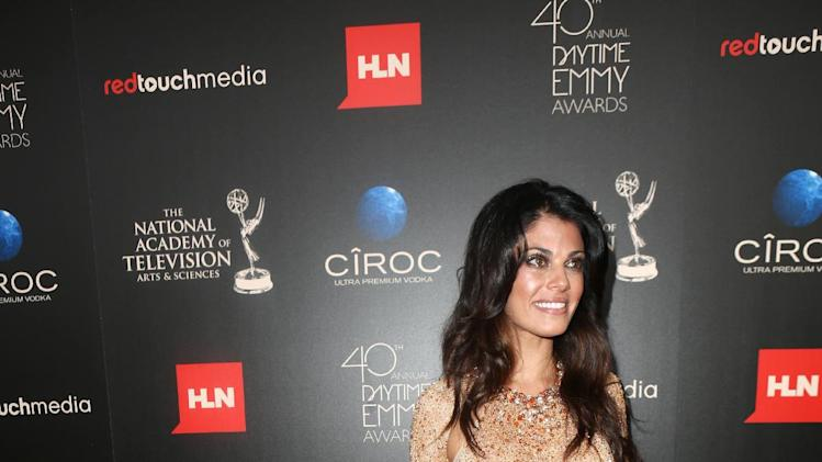 Lindsay Hartley seen at The 40th Annual Daytime Emmy Awards Redtouch Red Carpet, on Sunday, June, 16, 2013 in Beverly Hills. (Photo by Ryan Miller/Invision for EFG/AP Images)