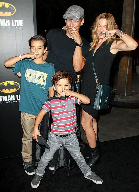 LeAnn Rimes Leaves Rehab, Attends Movie Premiere With Eddie Cibrian and Stepsons