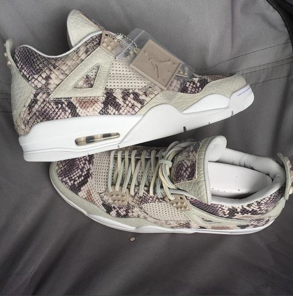 There Might Be a Snakeskin Air Jordan IV Releasing