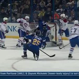 Chris Stewart buries one-timer past Price