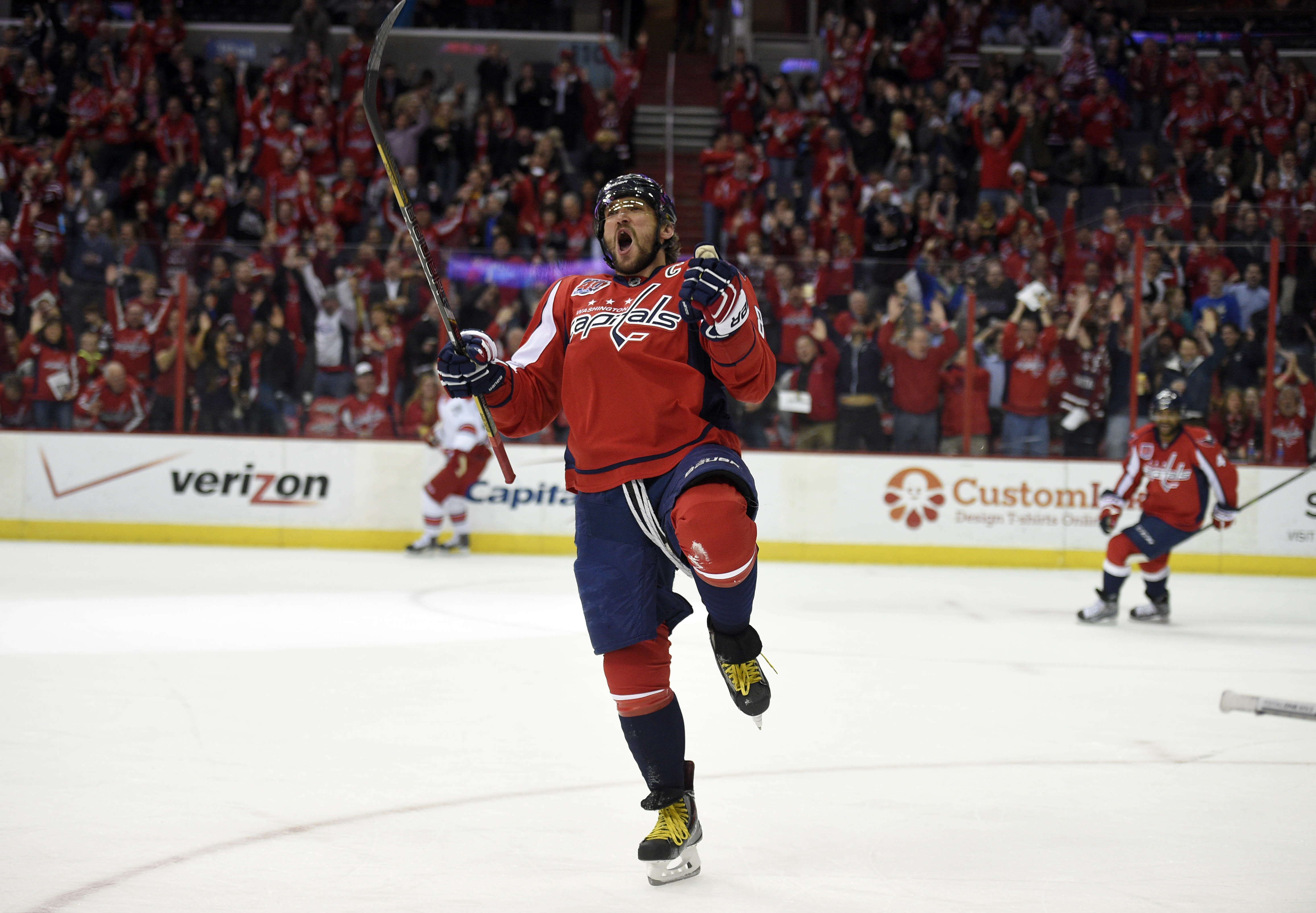 Capitals LW Alex Ovechkin reaches 50 goals for 6th time