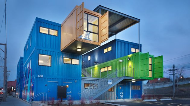 Shipping Containers to Become Condos in Detroit (ABC News)