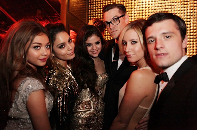 The Weinstein Company's 2013 Golden Globe Awards After Party Presented By Chopard, HP, Laura Mercier, Lexus, Marie Claire, And Yucaipa Films - Inside: Sarah Hyland, Vanessa Hudson, Selena Gomez, Ashle
