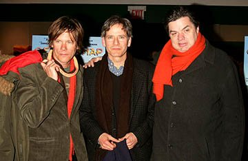 Premiere: Kevin Bacon, Campbell Scott and Oliver Platt at the NY premiere of Off the Map - 3/1/2005