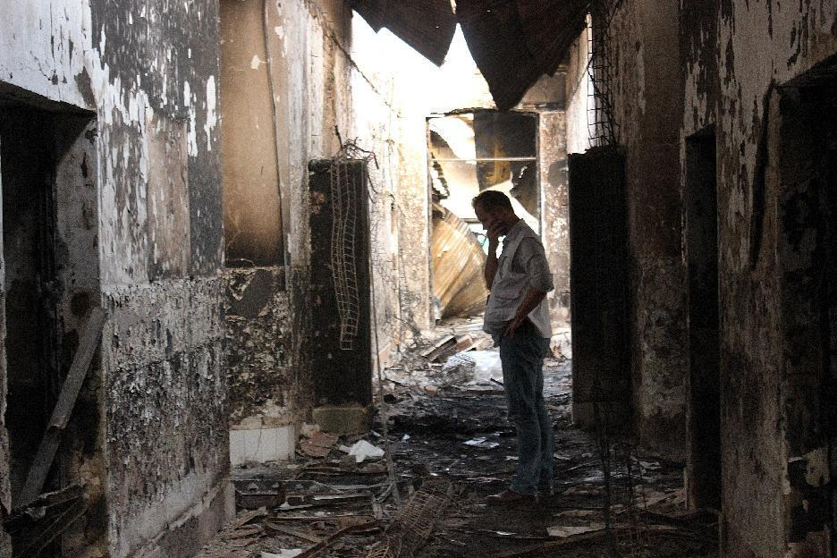 Some in US military suspended for Afghan hospital attack