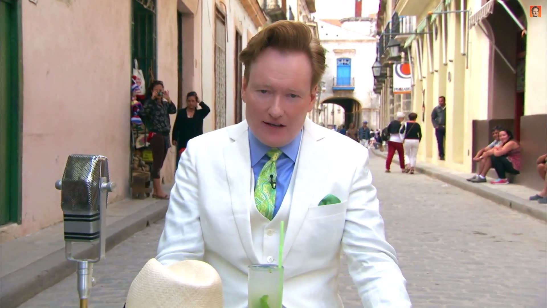 Conan O'Brien takes talk show to Cuba for cigars, rum and rumba