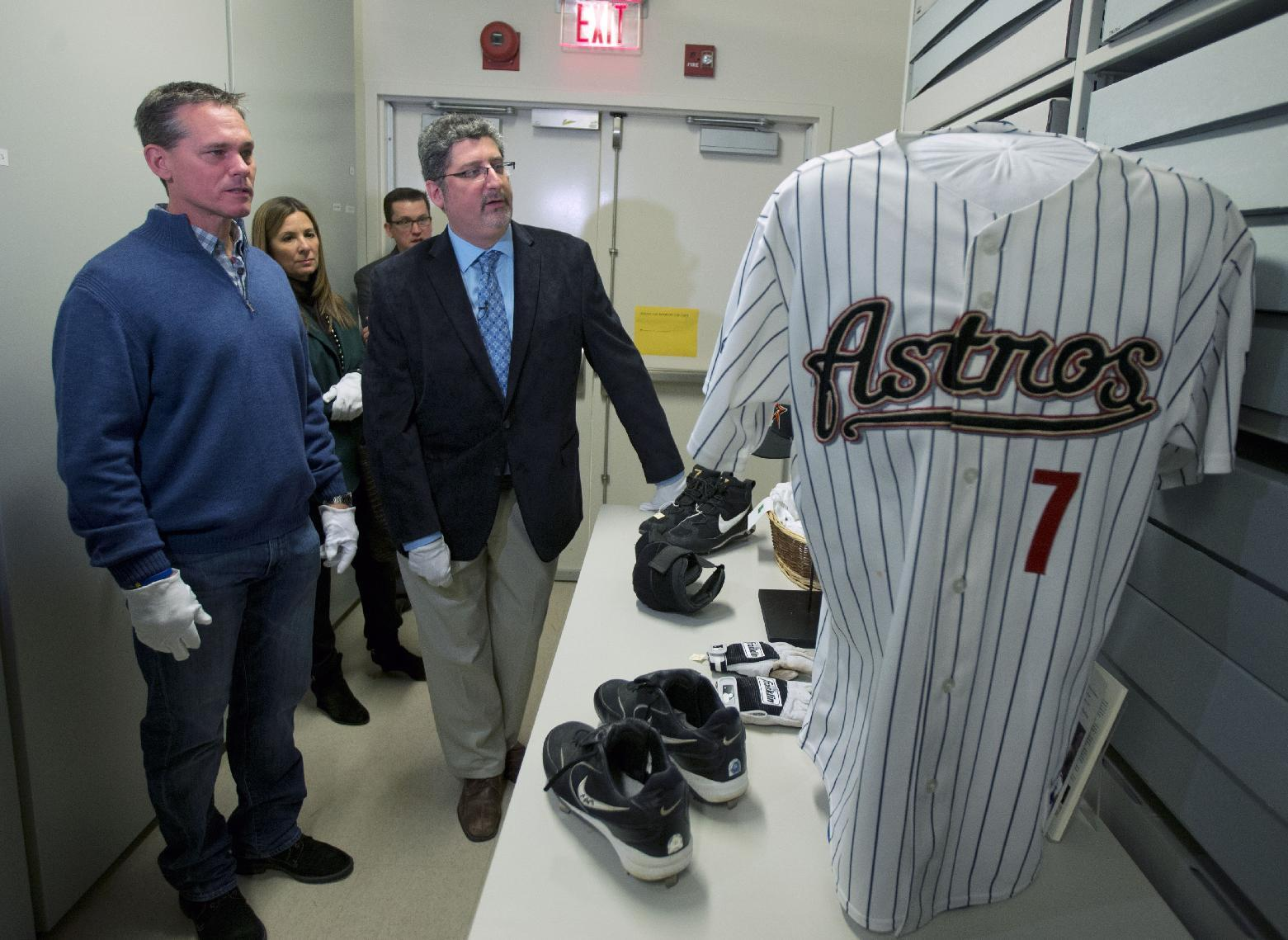 Craig Biggio 'kind of speechless' after Hall of Fame visit