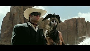 'The Lone Ranger' Teaser Trailer