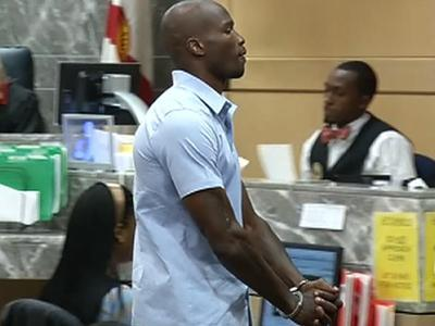 "Raw: ""Ochocinco"" Gets 30 Days for Butt Slap"