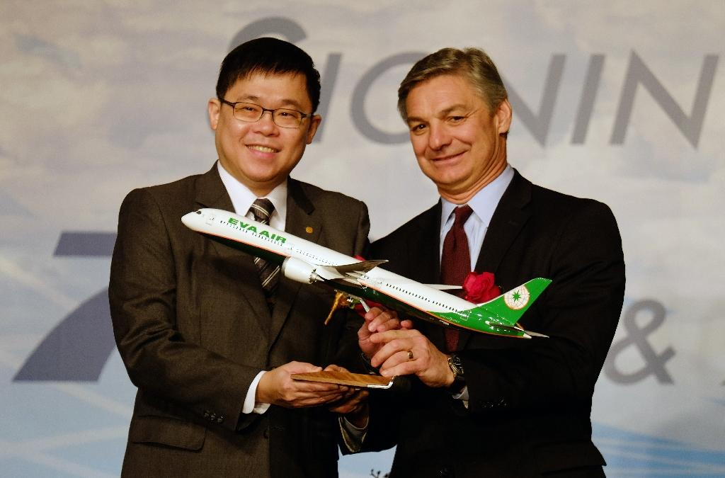 EVA Airways and Boeing sign Taiwan's biggest ever plane deal