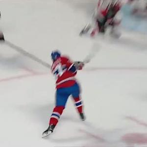 Pacioretty beats Hammond five-hole in 2nd period
