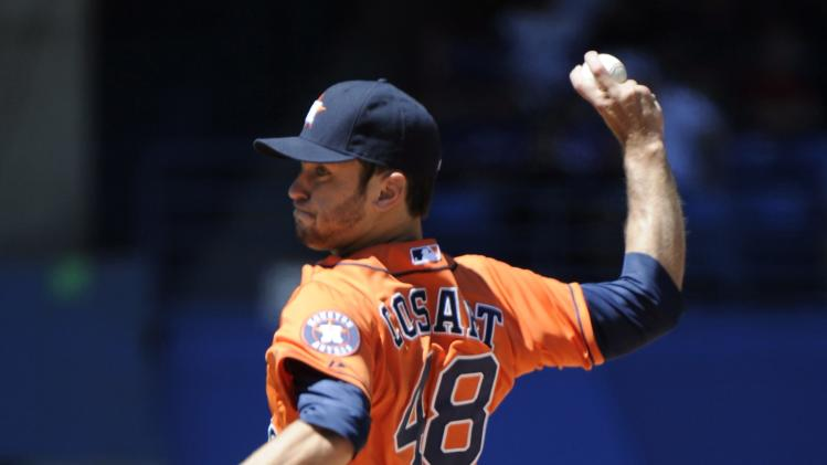 Rasmus has winning hit; Blue Jays beat Astros 2-1